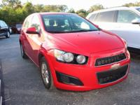 CARFAX One-Owner. Red Hot 2015 Chevrolet Sonic LT FWD