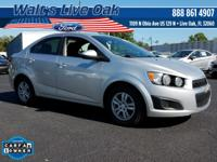 New Price! CARFAX One-Owner. 2015 Sonic Chevrolet Buy