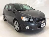 Options:  2015 Chevrolet Sonic Ltz|Gray|*Heated Leather
