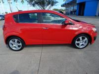 Options:  2015 Chevrolet Sonic Ltz|Red/|V4 1.4L