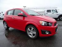 Options:  2015 Chevrolet Sonic Ltz. This 2015 Chevrolet