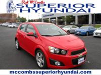 Tried-and-true, this Used 2015 Chevrolet Sonic LTZ lets