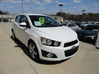 We are excited to offer this 2015 Chevrolet Sonic.