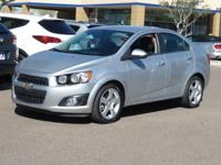 Clean CARFAX. 2015 Chevrolet Sonic LTZ Priced below KBB