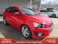 Options:  2015 Chevrolet Sonic Ltz Auto|Ltz Auto 4Dr
