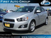 New Arrival! This 2015 Chevrolet Sonic LTZ will sell