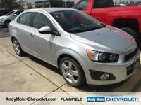 Chevrolet Sonic  Clean CARFAX.  **Accident Free Carfax