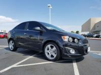 Come see this 2015 Chevrolet Sonic LTZ. Its Automatic
