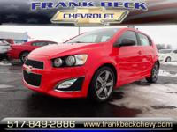 Options:  2015 Chevrolet Sonic Rs Manual|Rs Manual 4Dr