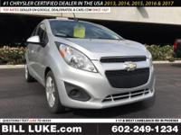 Options:  2015 Chevrolet Spark 1Lt|Silver|All Performed