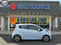 This Chevrolet Spark EV has a Electric Motor;