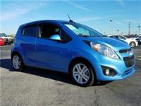 2015 Chevrolet Spark LS in Blue, *One Owner*, and Local