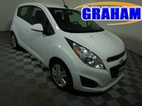 New Price! Clean CARFAX. White FWD ECOTEC 1.2L I4 MPI
