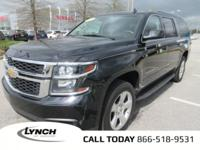 OVERVIEW This 2015 Chevrolet Suburban 4dr LT features a