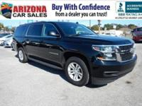 Recent Arrival! 1 owner 2015 Black Chevrolet Suburban