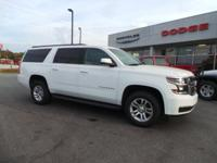 This WHITE 2015 Chevrolet Suburban LT 1500 might be