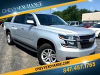 Options:  2015 Chevrolet Suburban 1500 Lt|Silver Ice