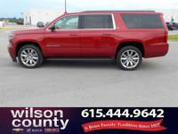 2015 Chevrolet Suburban LT V8 Crystal Red Tint Clean