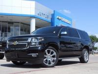 Navigation! Your lucky day! 2015 Chevrolet Suburban LTZ