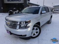 Options:  2015 Chevrolet Suburban Ltz|Silver|Recent