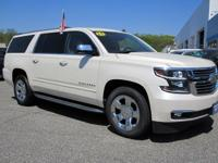 CARFAX One-Owner. White Diamond Tricoat 2015 Chevrolet