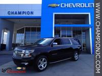 Options:  2015 Chevrolet Suburban Ltz|Black|Gm