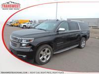 Options:  2015 Chevrolet Suburban 1500 Ltz|Black|Black
