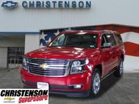 2015+Chevrolet+Suburban+LTZ+In+Crystal+Red+Tintcoat+GM+