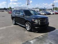 Black 2015 Chevrolet Tahoe LTZ RWD 6-Speed Automatic