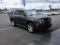 Clean CARFAX. Gray 2015 Chevrolet Tahoe LT 4WD 6-Speed