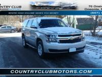This 2015 Chevrolet Tahoe is Perfect for a larger