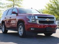 New Price! 2015 Chevrolet Tahoe LT Red 4WD 6-Speed