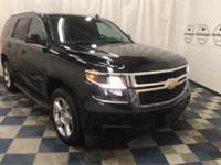 New Price! Clean CARFAX. Black 2015 Chevrolet Tahoe LT