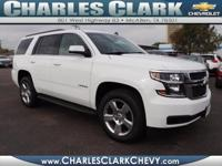 This 2015 Chevrolet Tahoe LT boasts features like a