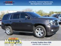 New Price! This 2015 Chevrolet Tahoe LT in Black is