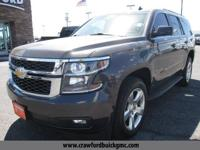 Gray 2015 Chevrolet Tahoe LT RWD 6-Speed Automatic