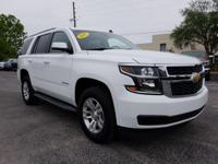 White 2015 Chevrolet Tahoe LT RWD 6-Speed Automatic