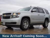 2015 Chevrolet Tahoe LT in Silver Ice Metallic, This