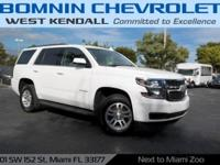 Options:  2015 Chevrolet Tahoe Lt|Summit White|2015