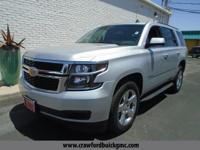 Silver 2015 Chevrolet Tahoe LT RWD 6-Speed Automatic