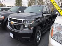 Black 2015 Chevrolet Tahoe LT 4WD 6-Speed Automatic