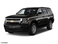 2015 Black Chevrolet Tahoe LT USB Charging Port, Cruise