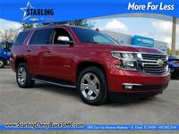 New Price! This 2015 Chevrolet Tahoe LTZ in Red
