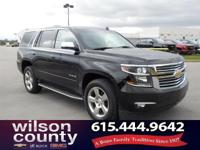 2015 Chevrolet Tahoe LTZ V8 Black 16/23 City/Highway