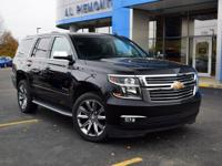 Black 2015 Chevrolet Tahoe LTZ 4WD 6-Speed Automatic