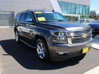 This outstanding example of a 2015 Chevrolet Tahoe LTZ