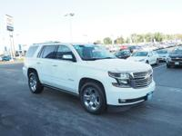 2015 Chevrolet Tahoe LTZ Summit White GM Certified,