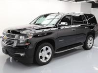 This awesome 2015 Chevrolet Tahoe 4x4 comes loaded with