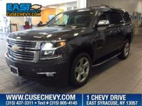 Look at this 2015 Chevrolet Tahoe LTZ. Its Automatic