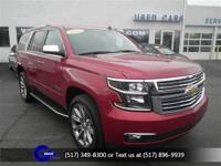 Options:  2015 Chevrolet Tahoe Ltz|Crystal Red